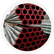 Tubos condutores de fluídos não corrosivos (água / óleo / vapor gás) pretos e galvanizados