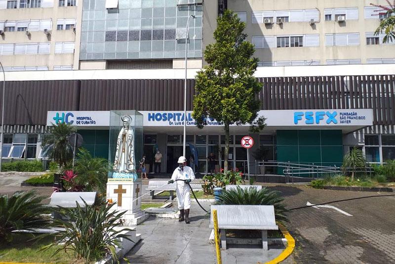 Usiminas anuncia doações e promove higienização para auxiliar o combate ao Coronavírus em Cubatão