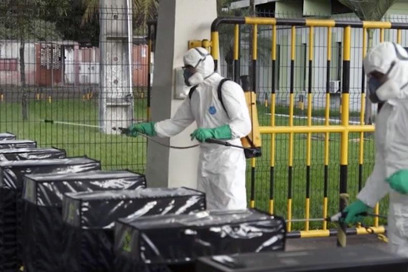 Higienização que vinha feita na Usina de Ipatinga será ampliada para outros locais da cidade