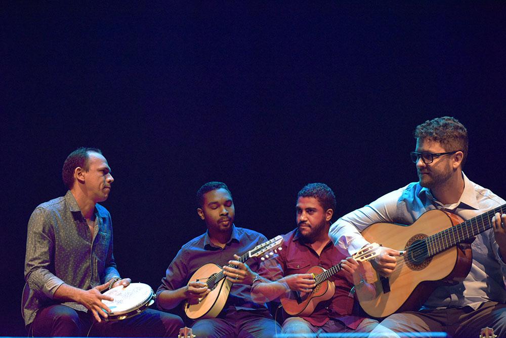 Choro do Vale se apresenta em live pela Série de Espetáculo de Música