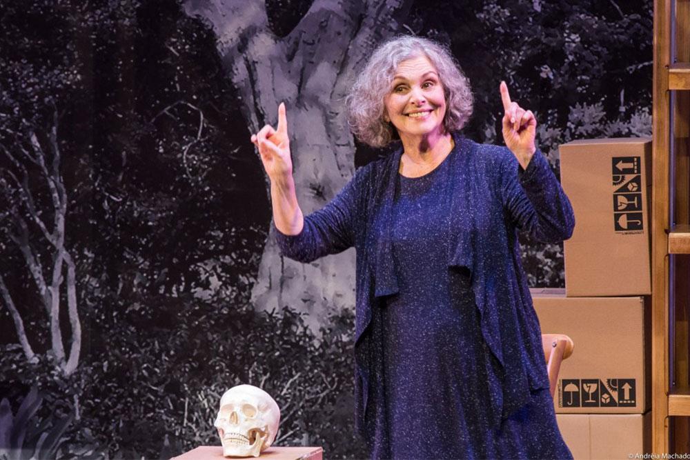 Atriz Irene Ravache encena espetáculo em Live do Instituto Usiminas