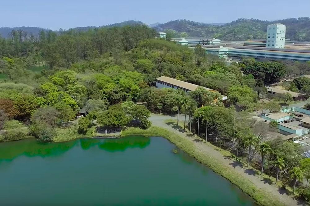 As iniciativas ambientais da Usiminas na usina de Ipatinga